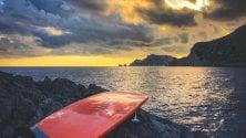 Dalla Costiera a Capri  su una tavola da SUP