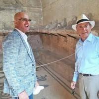 """L'ambasciatore Usa in visita a Ercolano: """"Luogo splendido, spero di tornarci presto"""""""