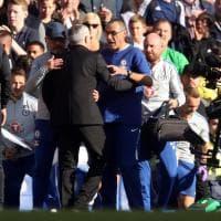 Sarri, alta tensione con Mourinho