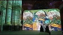 Il senso di Klimt, video  e laser per capire l'arte
