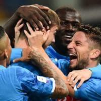 Udinese-Napoli, gol di Ruiz: 0-1