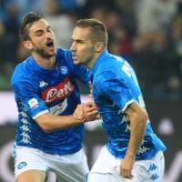 Udinese-Napoli: le immagini più belle del secondo tempo