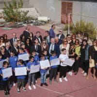La Fondazione Santobono recupera il campo del Rione Conocal
