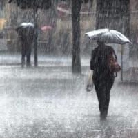 Maltempo: in Campania, pioggia e vento. Bomba d'acqua Capri