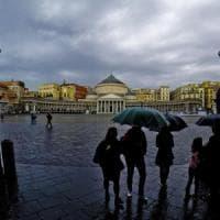Maltempo: in Campania, pioggia e vento. Bomba d'acqua a Capri