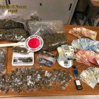 Spaccio, colpo alla piazza del Borgo: 1,4 chili di droga sequestrata e 4 arresti
