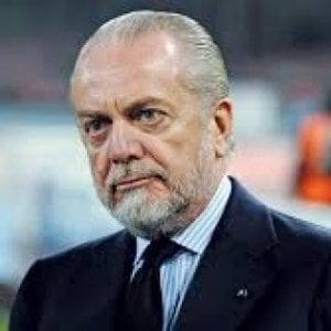 """Calcio, De Laurentiis: """"Striscioni contro di me? Chiedete al ministro dell'Interno"""""""