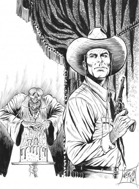 Tex 70, l'omaggio di Ediberto Messina