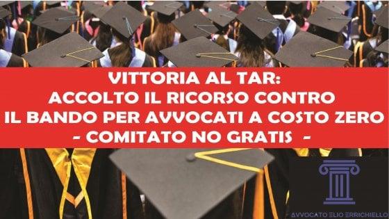 """Sentenza tar di Napoli: """"I compensi gratuiti sono illegittimi"""""""