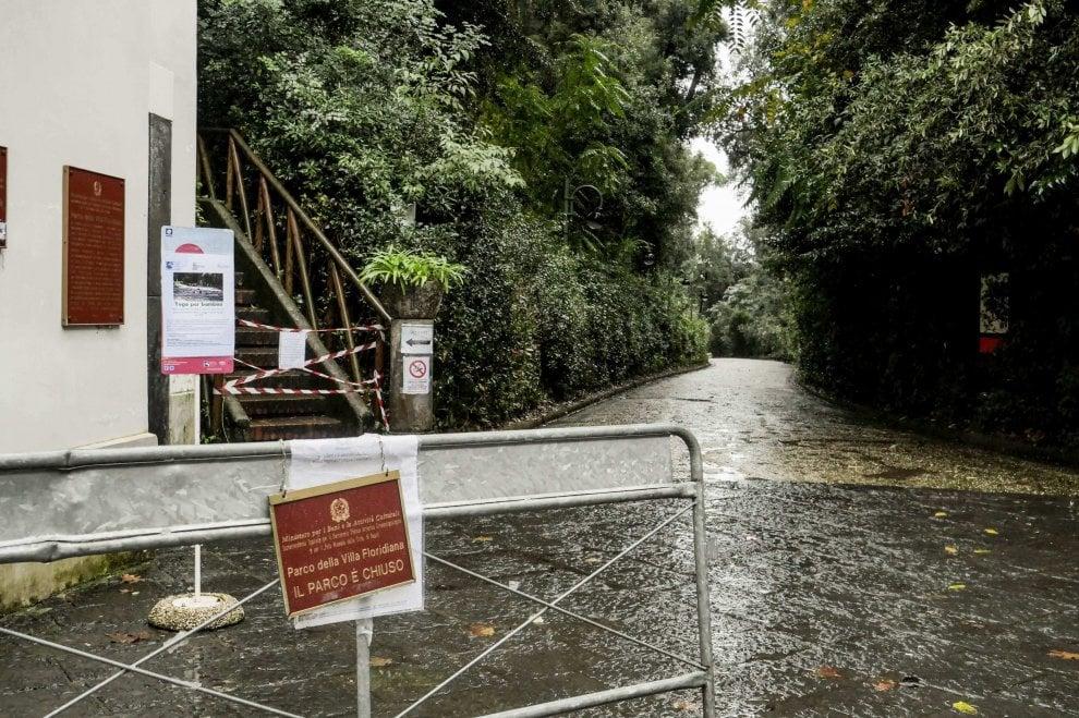Emergenza alberi, chiusi i parchi cittadini