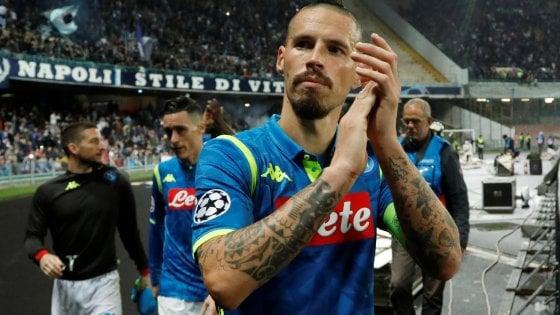 Il Napoli guarda avanti e crede nella qualificazione in Champions