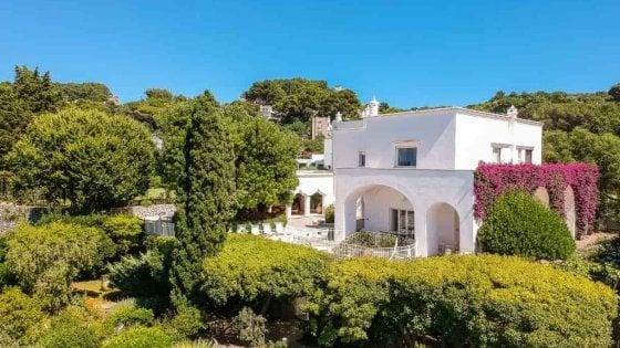 Capri, in vendita la villa dove fu di casa anche Totò