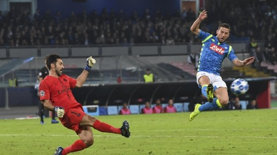 Napoli, Mertens ha riportato una lieve distorsione alla spalla