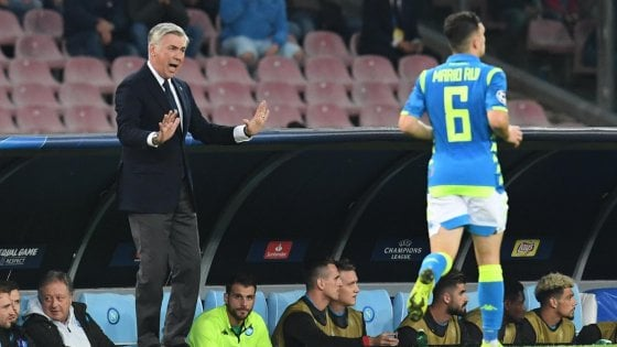"""Napoli, Ancelotti: """"Sarri ha fatto un grande lavoro, con De Laurentiis massima sintonia"""""""