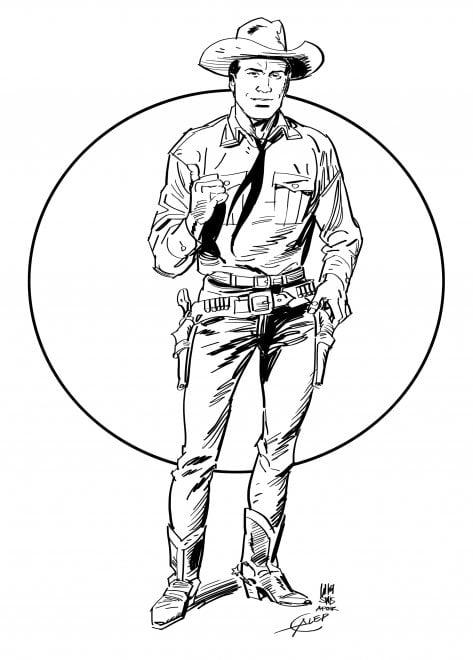 Tex 70, l'omaggio di Luigi Siniscalchi
