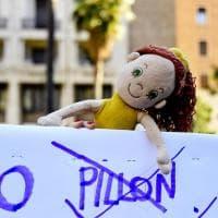 Affido: in piazza a Napoli, netta contrarietà a ddl Pillon