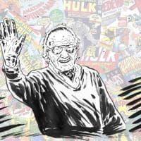 Scompare Stan Lee, il papà dei super eroi Marvel, il disegno tributo di Lorenzo Ruggiero