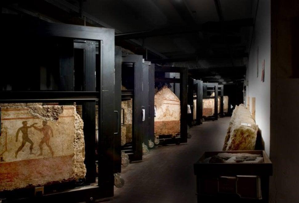 Il museo di Paestum apre a visite straordinarie nei suoi depositi