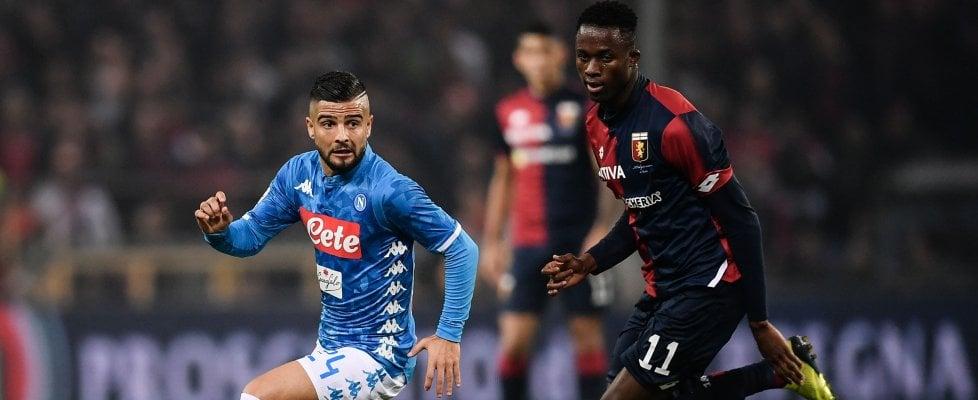 """Napoli, l'Uefa celebra Insigne su twitter con un sondaggio: """"Gli affidereste un rigore nella finale di Champions?"""""""