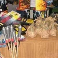 Fuochi d'artificio, fabbrica abusiva nel Casertano: sei arresti e una denuncia