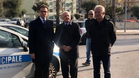 Salerno, una strada per l'avvocato Diego Cacciatore
