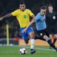 Napoli, Allan che esordio con il Brasile: entra nella ripresa e fa la differenza