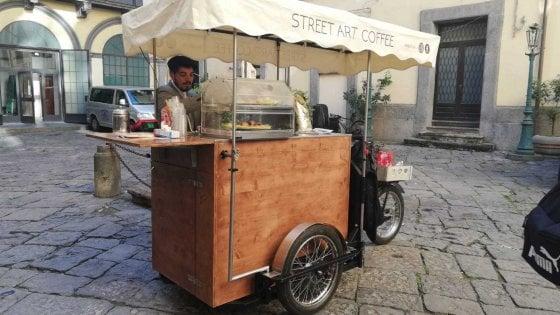 """Ecco """"Don Cafè"""", una macchinetta del caffè """"itinerante"""" per Napoli"""