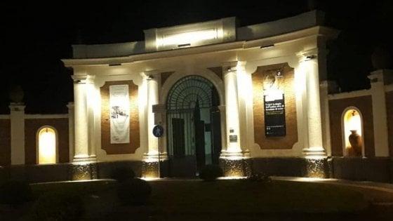 Ercolano, inaugurata la nuova illuminazione dell'ingresso storico degli Scavi archeologici