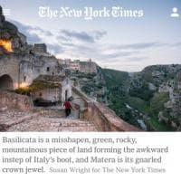 La Basilicata secondo il New York Times: non solo Matera
