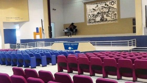 Castellammare di Stabia, festa per il nuovo Auditorium del liceo Severi