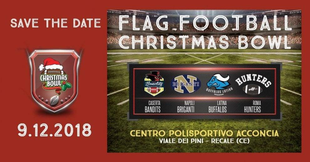 Football, ecco il Christmas Bowl a Caserta