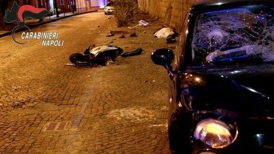 Omicidio stradale, folle gara di velocità tra ragazzi, muore un operatore ecologico