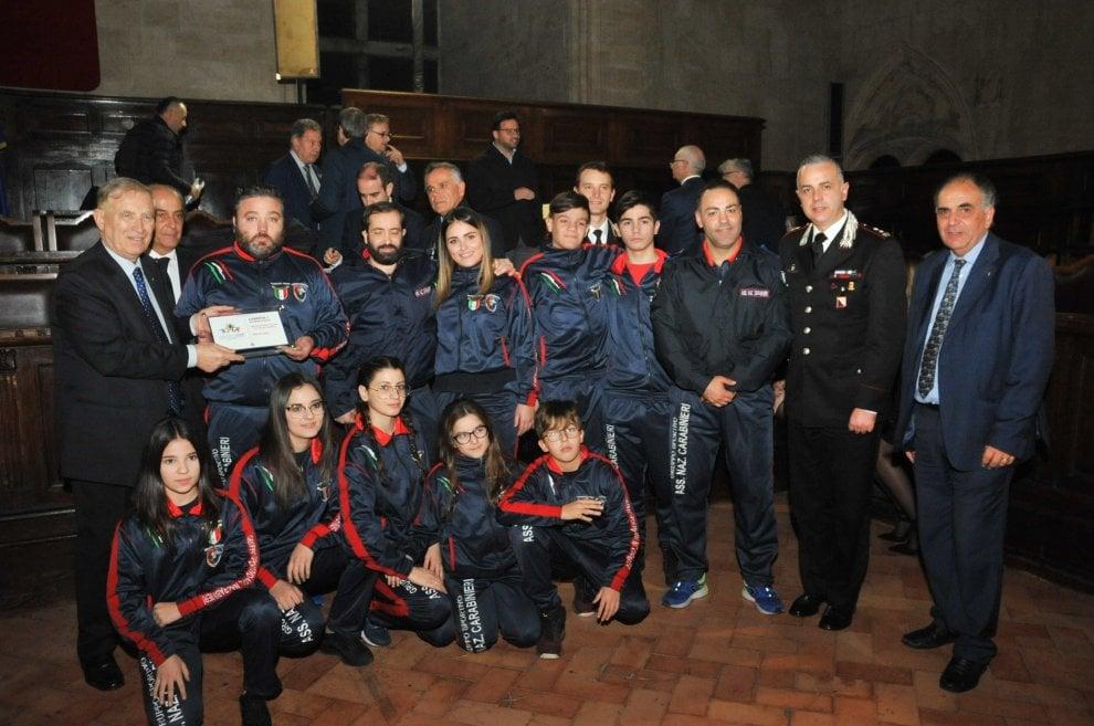 Il Coni premia i suoi campioni, cerimonia al Maschio Angioino.