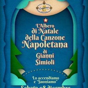 Napoli, l'albero della canzone napoletana
