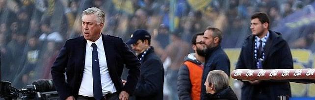 """Napoli, la carica di Ancelotti: """"Col Liverpool convinti di farcela al 100%"""""""