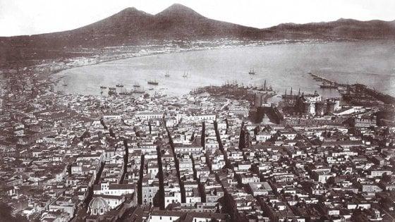 Napoli prima e dopo negli scatti dei Siano