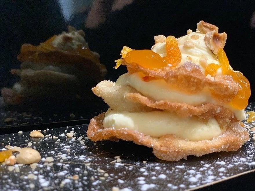 Millefritta a Napoli: ecco la millefoglie fritta al gusto di pastiera