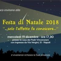 Napoli, festa di Natale al borgo dei Vergini