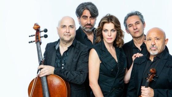 """Museo di Pietrarsa, """"Claudia Gerini & Solis String Quartet"""" in concerto"""