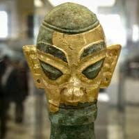 Meraviglia Cina tra maschere, statue e il dio Sole del popolo Shu