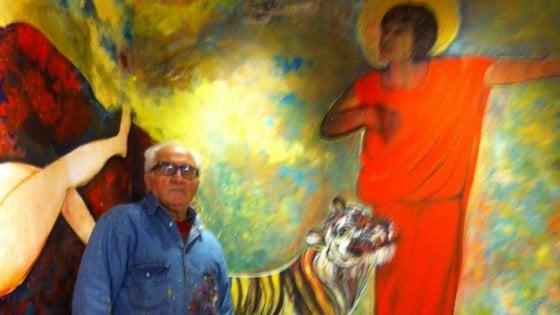 Potenza: addio ad Antonio Masini, artista visionario