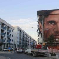 Scampia, quasi pronto il murale di Jorit su Pasolini