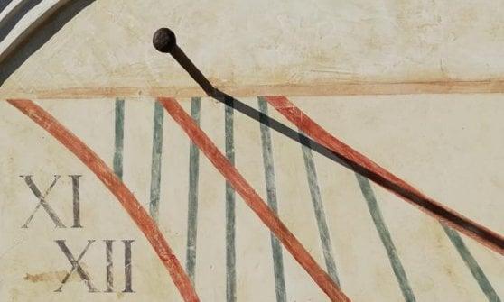l'atteggiamento migliore 18b39 b6e40 Restaurato l'antico orologio solare di San Martino: torna a ...