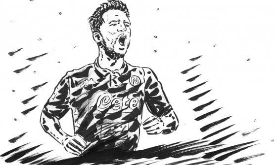 Inter-Napoli, Mertens: