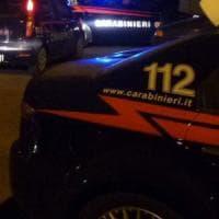 Non si ferma all'alt, sperona l'auto dei carabinieri: si schianta contro un albero e muore