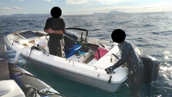 Gaiola: carabinieri denunciano due pescatori di frodo e sequestrano l'attrezzatura