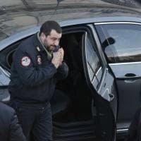 Salvini ad Afragola, incontri con il sindaco e i commercianti
