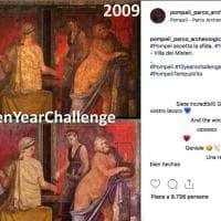 #TenYearChallenge, partecipa anche Pompei con una foto di Villa dei Misteri