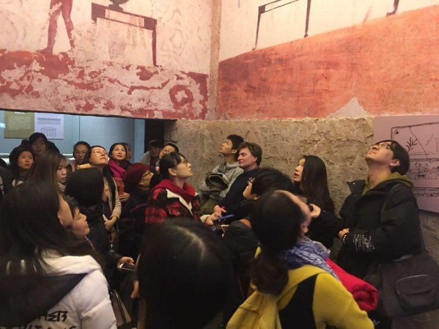 Paestum sbarca per la prima volta in Cina con una mostra all'Hebei Museum