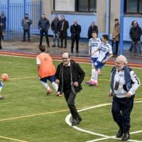 Calcio d'inizio di Cafiero de Raho, Ponticelli ritrova il campetto dei ragazzi del Conocal
